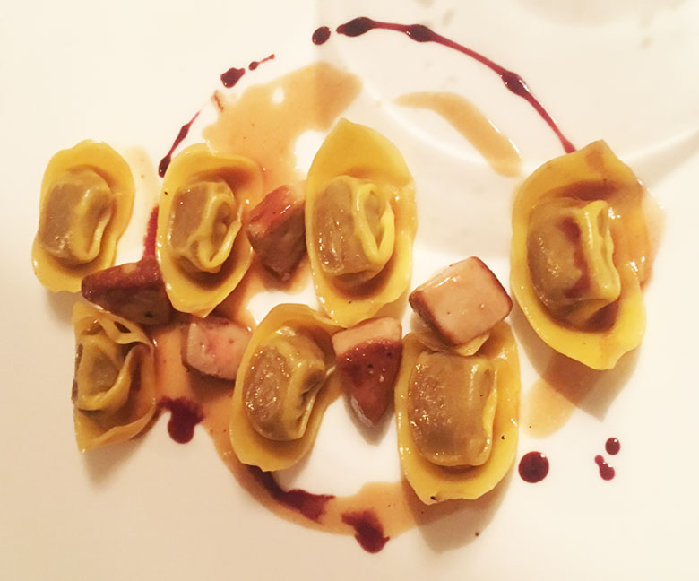 Ravioli al Vapore da gustare al Ristorante Tenuta Albertini di Zevio in Provincia di Verona