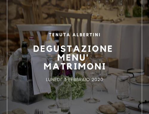 Degustazione Menù Matrimoni
