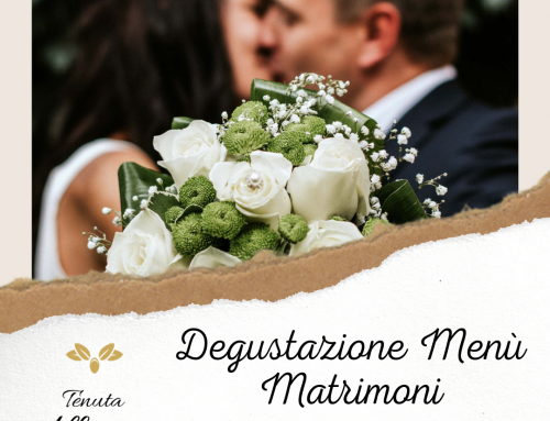 Degustazione Menù Matrimoni 2021